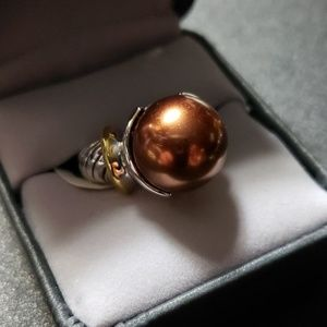 18KGE vintage ring size 6 NWT